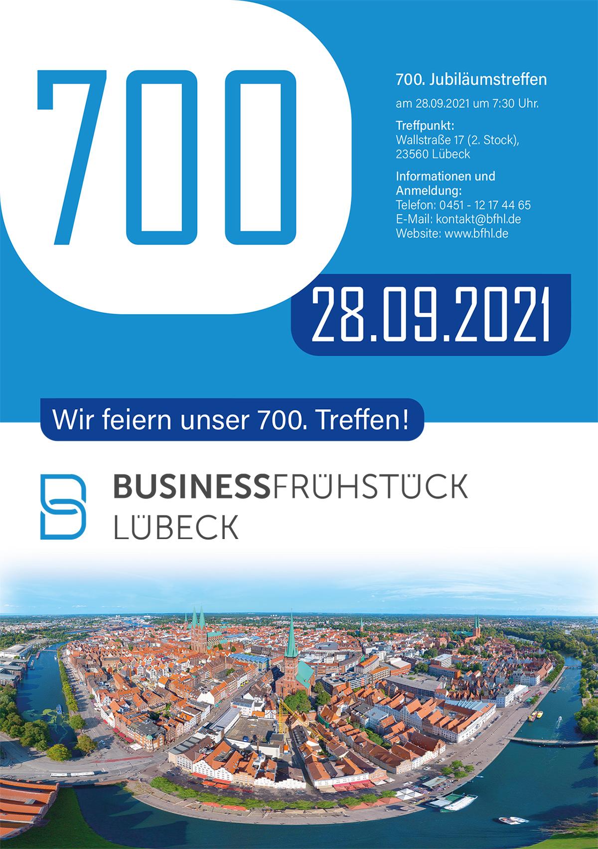 700 Treffen des BFHL - Offenes Netzwerken und Kontakte knüpfen