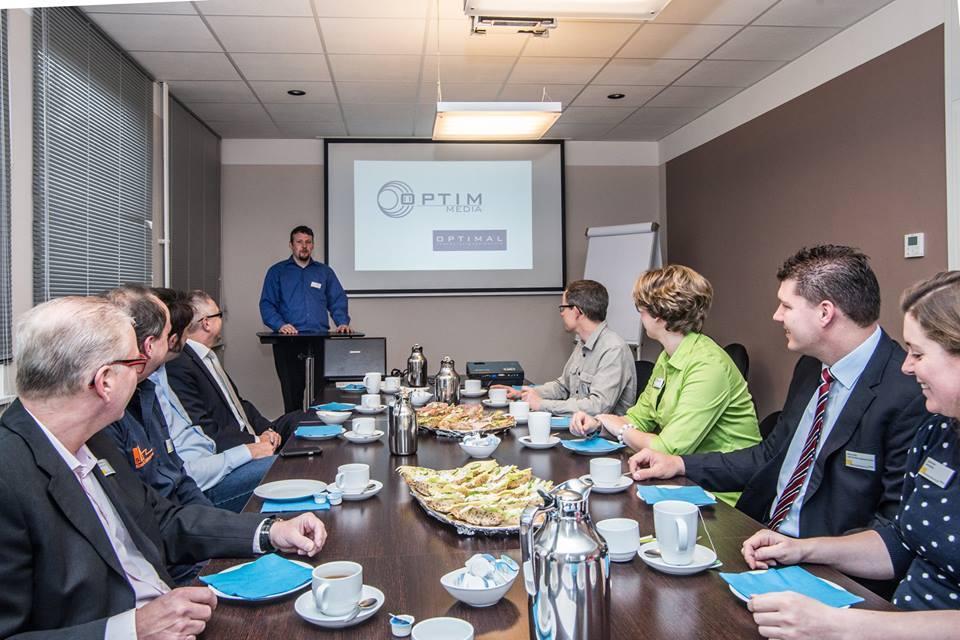Mitglieder des Businessfrühstück, Foto © Christian Wese